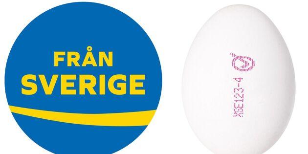 Endast Sverige har svenska ägg