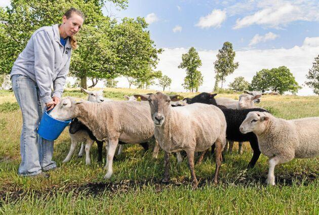Anna Carlevad tog över släktgården som hon växte upp på. Dess förinnan gick hon naturbruksgymnasium och arbetade på olika gårdar.