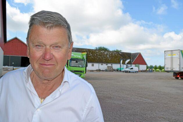 """""""Vi har livsmedelsproduktion och det får inte finnas minsta spår av gnagare i produkterna vi levererar."""" Per Nordmark, ägare till Södervidinge gård."""