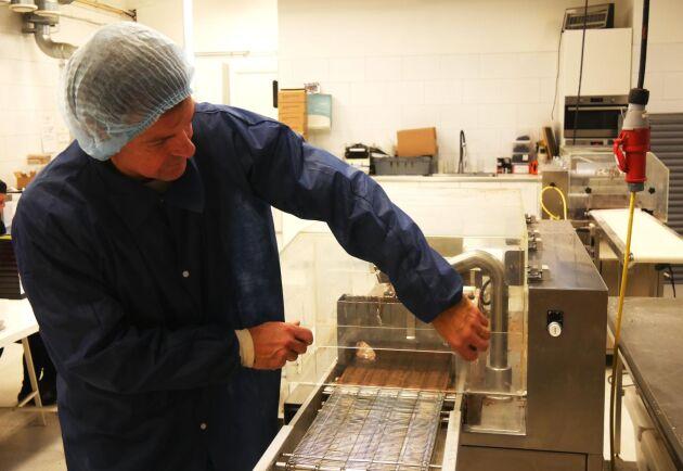 Martin Jörgensen har tidigare arbetat med choklad - innan han gick över till lakrits.