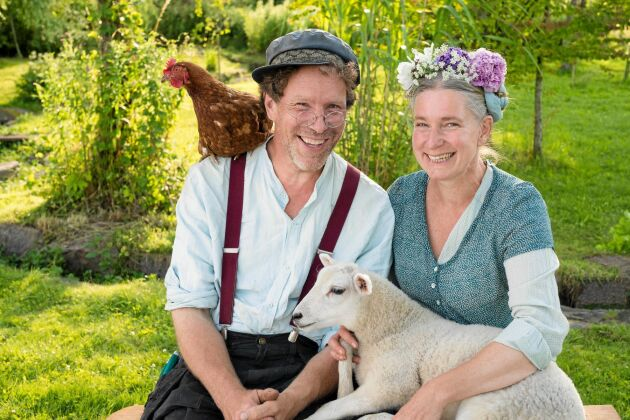 Gustav och Marie Mandelmann spelar snart in säsong 5 på gården Djupadal.