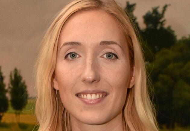 Cecilia Reje, näringspolitisk expert LRF.