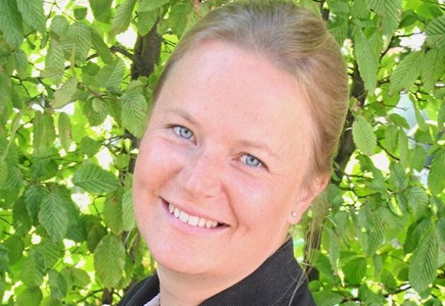 Anna Linnell, växtodlingsrådgivare på HS Konsult i Nyköping.