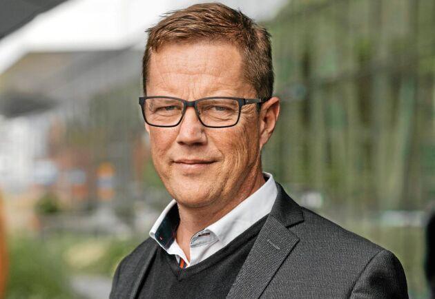 """Ulf Möller är segmentsansvarig för affärsområdet """"skog och lantbruk"""" på Swedbank & Sparbankerna. Han förvånas inte över att de dyraste skogsförsäljningarna återfinns i och omkring Stockholmsregionen."""