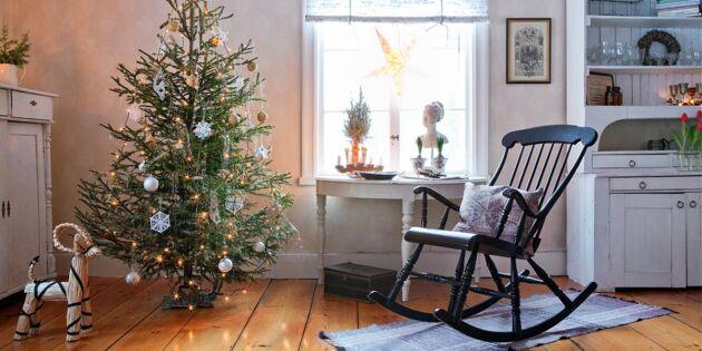 Vackra julgranar i olika stilar – 8 bilder att inspireras av