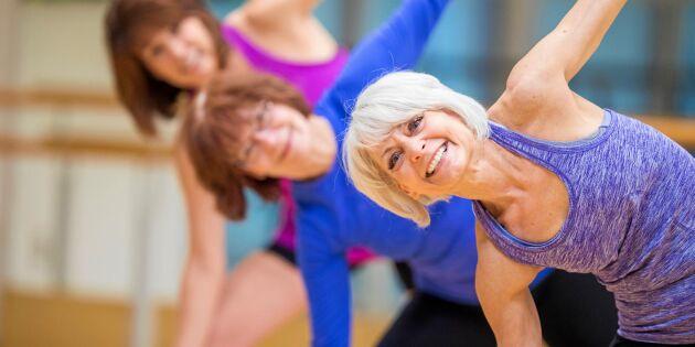 Forskning visar: Det är aldrig för sent att börja träna!