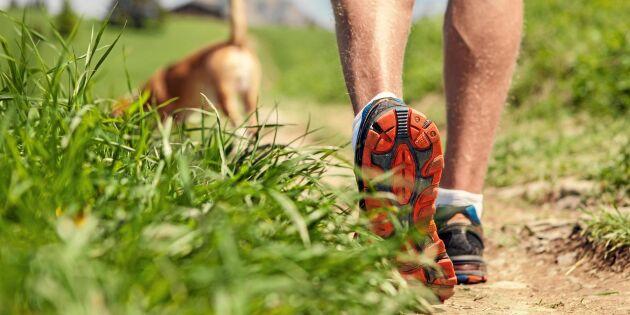 Promenera på rätt sätt – och lev längre