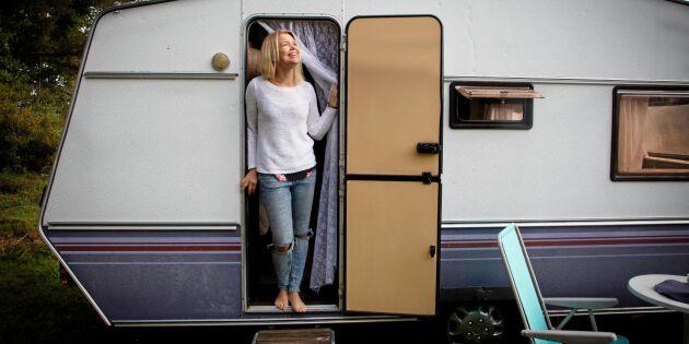Elin köpte begagnad husvagn – och fick drömsemester!