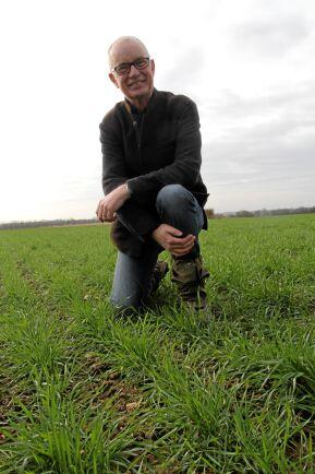 John Pawsey kan bli Årets spannmålsodlare i England.