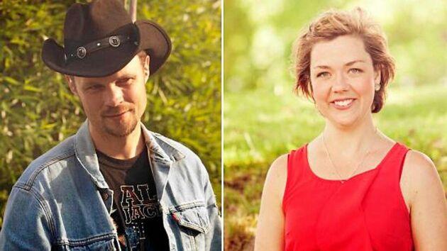 """Nils-Olof Nilsson och Carina Tropp ur """"Bonde söker fru"""" väntar sitt andra barn i sommar."""