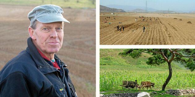Han har insyn i världens mest slutna jordbruk – så hjälper han Nordkoreas bönder