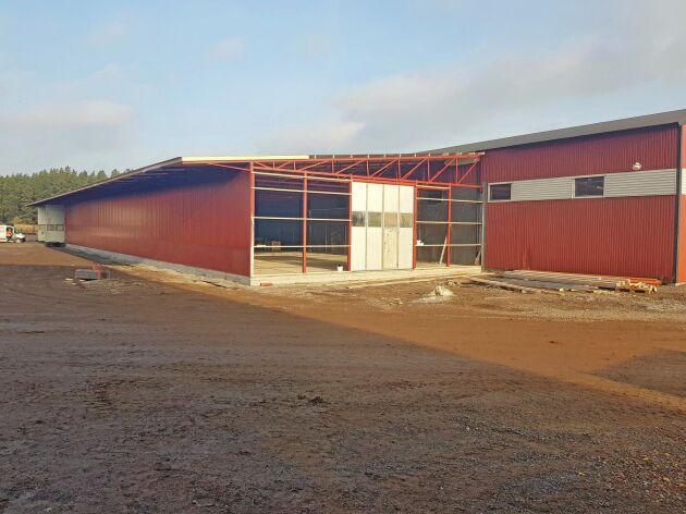 Större precision, mindre tidsåtgång och färre materialförstörande svetsar och borrhål är målet när Metsjö tar sin nya materialbearbetningsanläggning i drift.