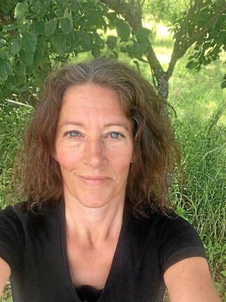 Cecilia Timner äger Nyrups naturhotell tillsammans med Camilla Jönsson.