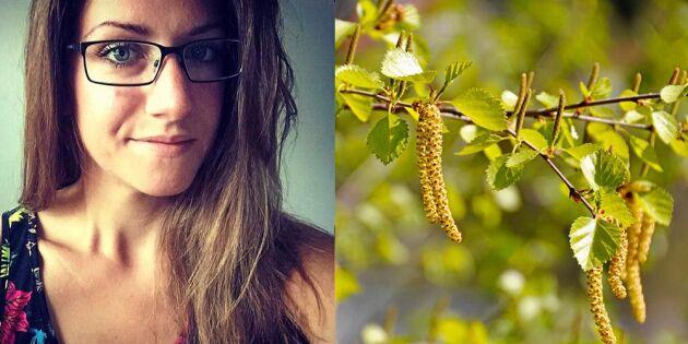 """Kim har provat nya behandlingen mot pollenallergi: """"Fått ett nytt liv"""""""