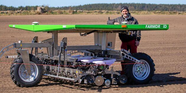 Roboten som odlar är här – på riktigt
