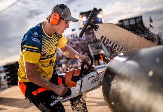Ferry Svan representerar Sverige i Champions Throphy.