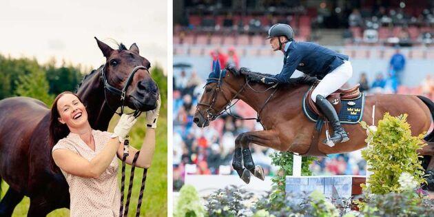 Succé för hästsverige under EM i ridsport