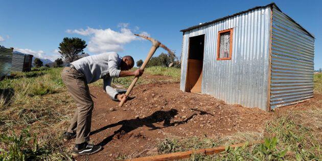 Markreform omdiskuterad fråga i Sydafrika