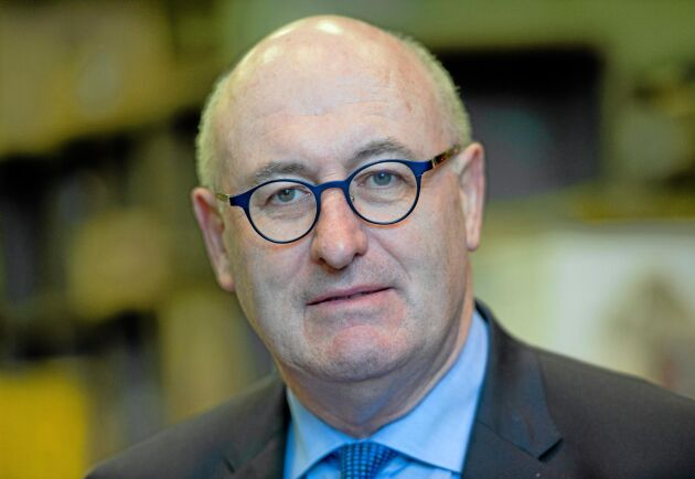 Phil Hogan, EU:s jordbrukskommissionär.