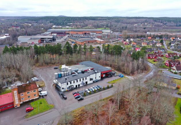 Arla och Boxholms kommun är oense om vilka inventarier som ingår i köpet.
