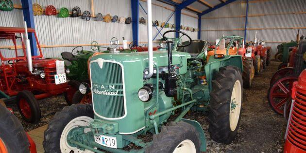 En av landets största traktorsamlingar på auktion