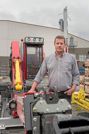 Magnus Hedman, service och eftermarknadschef på Cranab/Slagkraft berättar att den nya generationens skotarförare önskar mer automatiska funktioner i kranen vilket håller på att utvecklas.
