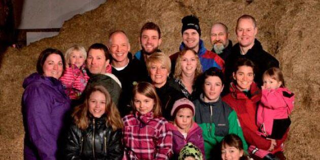 Familjerna som vågar! Lokala ekomjölken blir deras signum