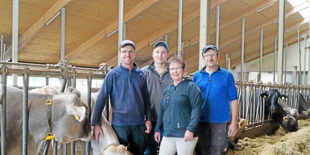 Nöjd mjölkbonde valde bort eko