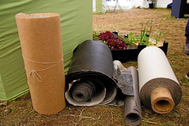 Enligt juryn har odlingsdukarna i papper flera fördelar och kan bli en viktig produkt för framtidens jordbruk.