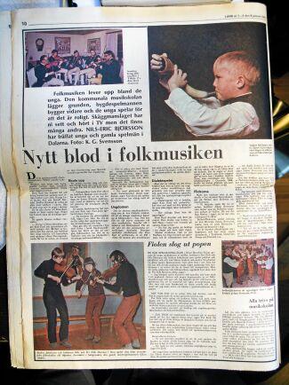 Sverige älskar när Orsa tar ton. Tre bilder från 50 år på tre av Sveriges bästa spelmän.