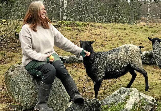 Fia Söderberg startade Ullförmedlingen efter att ha konstaterat att det fanns både en stor efterfrågan och ett stort utbud av ull – samtidigt som stora mängder ull importeras.