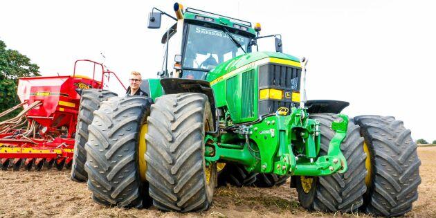 """""""Den här traktorn kommer jag aldrig att sälja"""""""