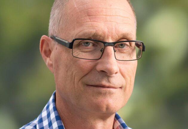 Karl-Anders Högberg, forskare på Skogforsk.
