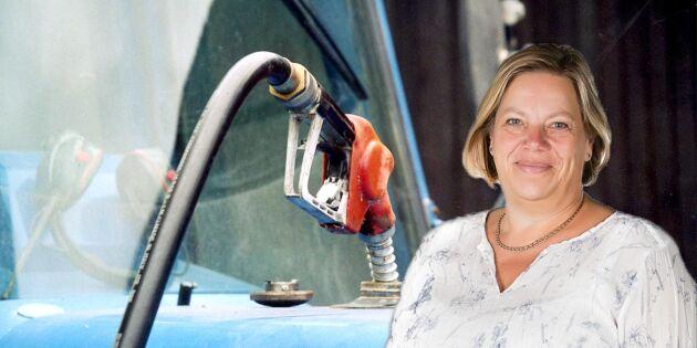 Återbetalningen på dieselskattens dagar är räknade