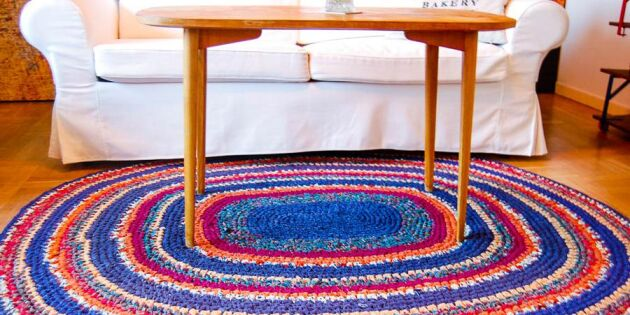 Snyggaste mattan virkar du själv