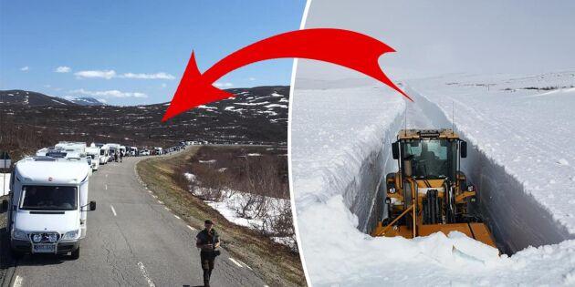 Vildmarksvägen har öppnat för säsongen –se förvandlingen i bilder!