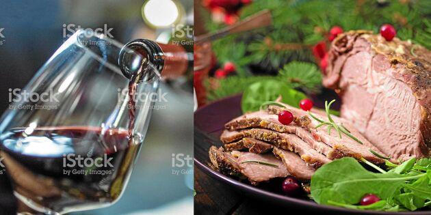 Vinexperten tipsar: Här är bästa vinerna till julmaten