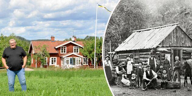 """Så gick det för modiga bonden från Ydre – """"Sveriges förste emigrant"""""""