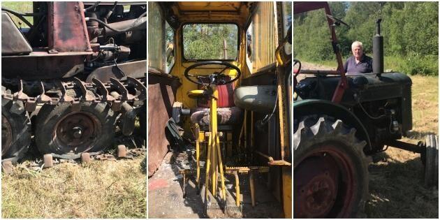 Skadegörelse: Krossat glas och hö i dieseltanken