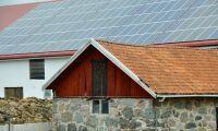 Regeringen vill förenkla för solkraftsutbyggnad