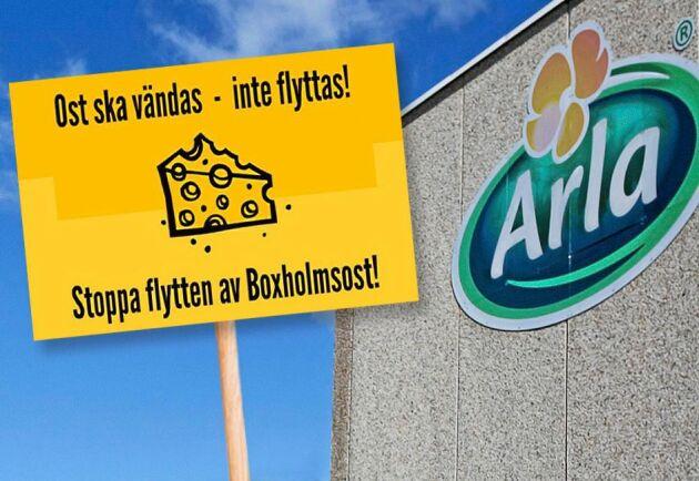 """En """"ostmarsch"""" arrangeras för att stötta Boxholms Ost."""