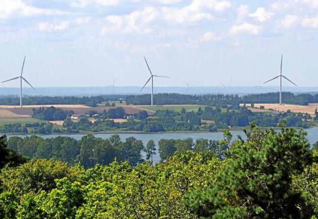 Med nuvarande takt på utbyggnaden väntas vindkraft producera motsvarande en tredjedel av den svenska elanvändningen 2022.