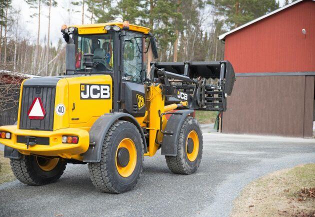 JCB växer och investerar i nya anläggningar.