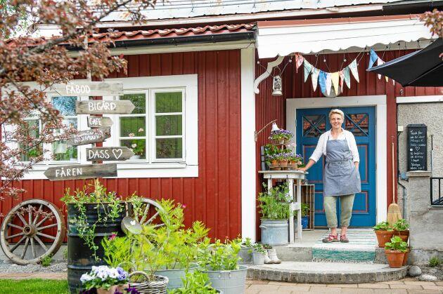 Eva Westberg öppnar snart upp kaféet på Färjestans gård i jämtländska Stugun.