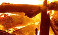 Ladugård i Eslöv brann ner till grunden