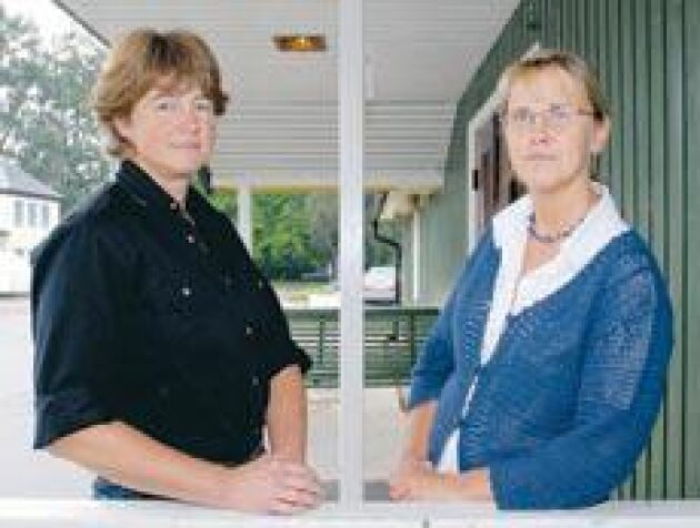 Anita Persson och Gunnel Andersson hämtar kraft och stöd från den äldre generationen.