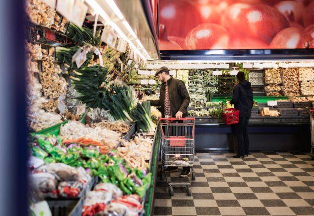 Matpriserna rörde sig i stort sett i sidled under slutet av 2019.