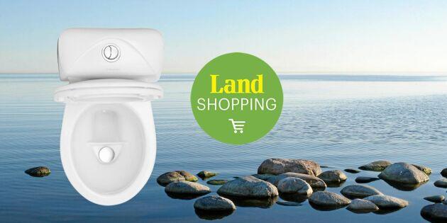 Svensk snålspolande toalett – förbrukar mindre än 1 liter