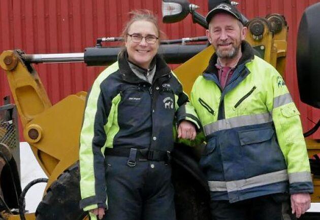 Titti och Lennart Jöngren klarar sig bra tack vare att deras verksamhet är mångfacetterad.