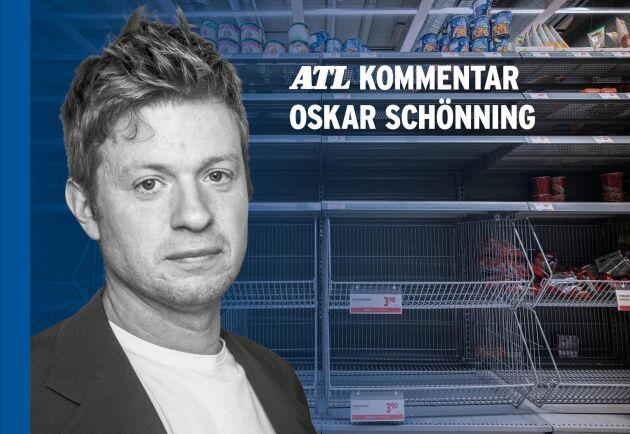 """""""Hittills har lantbruket ändå klarat sig ganska bra i just denna kris"""", skriver ATL:s ekonomireporter Oskar Schönning."""